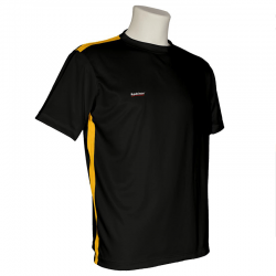 Redclear sportshirt met ronde hals, volledig aanpasbaar, München Model (STS002-RN)